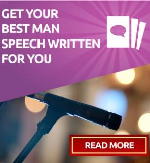 Best man speech writing service uk