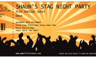 Personalised Stag Do Invitations