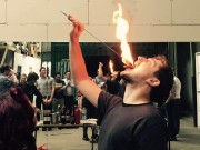 London Fire Eating Stag Do