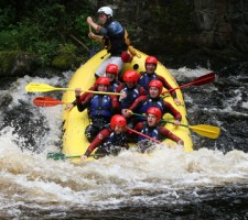 White Water Rafting Stag Do