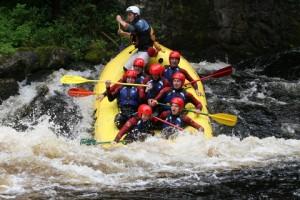 Edinburgh Ride the Rapids Stag Weekend Package