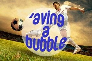 Edinburgh Aving a Bubble Stag Weekend Package