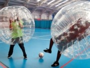 London Bubble Football & Eating Challenge Stag Weekend Package