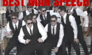 5 ways to make a killer best man's speech (warning these are audacious)