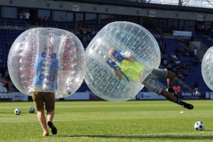 Edinburgh Bubble Football Stag Do