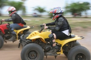 Brighton Stag Do Ideas quad biking
