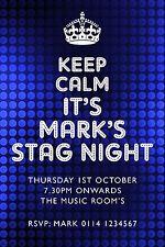 Personalised Stag Invitation