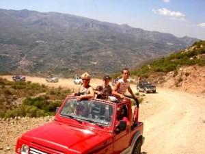 Benidorm Stag Do Jeep Safari