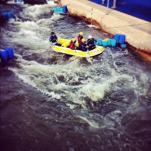 Cardiff Stag Do Ideas: The International White Water Centre