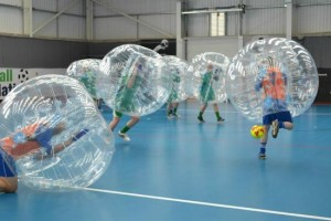 Cardiff stag do ideas: Zorb Football