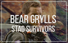 New Stag do Ideas of 2015 - Bear Grylls