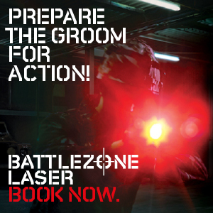 Battlezone Laser Stag Do